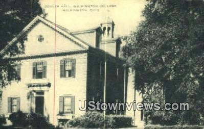 Denver Hall, Wilmington College - Ohio OH Postcard