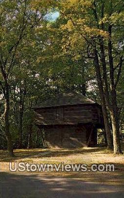 Pioneer Blockhouse - Mansfield, Ohio OH Postcard