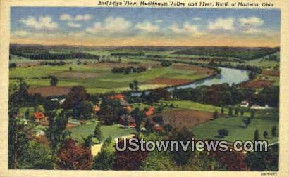 Muskingum Valley - Marietta, Ohio OH Postcard