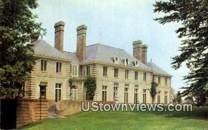 Kingwood Hall - Mansfield, Ohio OH Postcard