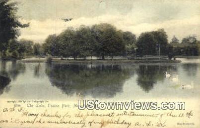 Lake, Casino Park - Mansfield, Ohio OH Postcard