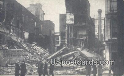 3 & 4 Street, Flood - Dayton, Ohio OH Postcard