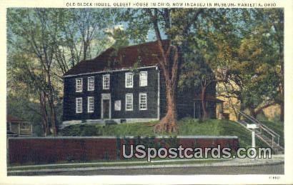 Old Block House - Marietta, Ohio OH Postcard