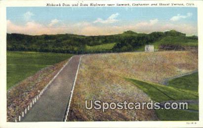 Mohawk Dam - Mt. Vernon, Ohio OH Postcard