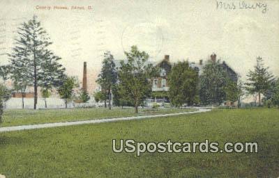 County House - Akron, Ohio OH Postcard