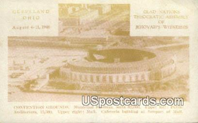 Convention Grounds - Cleveland, Ohio OH Postcard