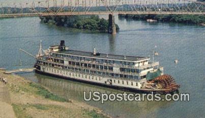 Delta Queen - Marietta, Ohio OH Postcard