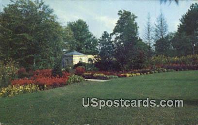 Summer Annuals, Kingwood Center - Mansfield, Ohio OH Postcard