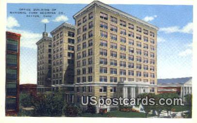 Office Building of National Cash Register Co - Dayton, Ohio OH Postcard