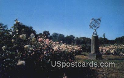The Park of Roses - Columbus, Ohio OH Postcard