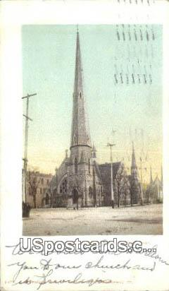 Third Street Presbyterian Church - Dayton, Ohio OH Postcard