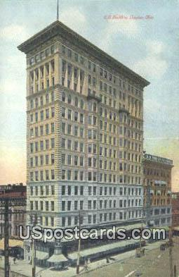 UB Building - Dayton, Ohio OH Postcard