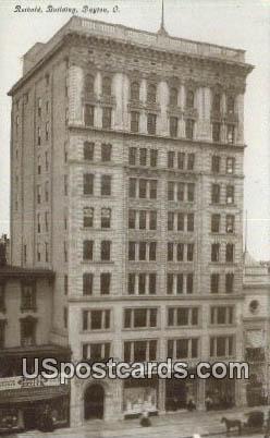 Reibold Building - Dayton, Ohio OH Postcard