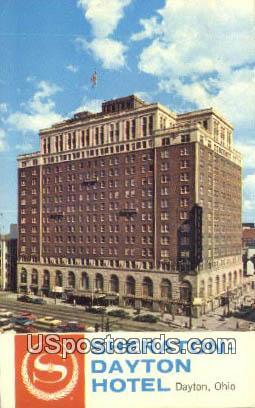Sheraton Dayton Hotel - Ohio OH Postcard