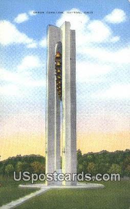 Deeds Carillon - Dayton, Ohio OH Postcard