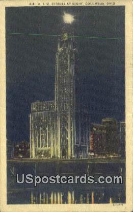 AIU Citadel - Columbus, Ohio OH Postcard