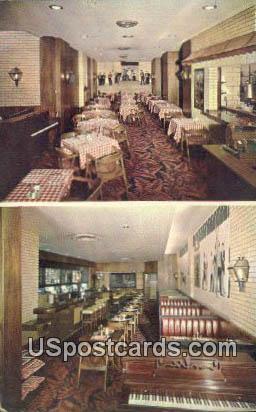Lamp Post Corner, Hotel Sinton - Cincinnati, Ohio OH Postcard