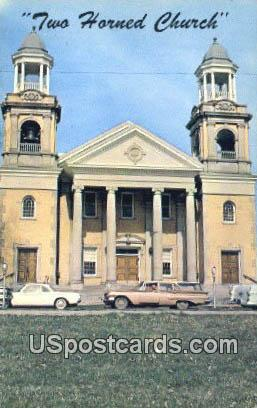 First Congregation Church - Marietta, Ohio OH Postcard