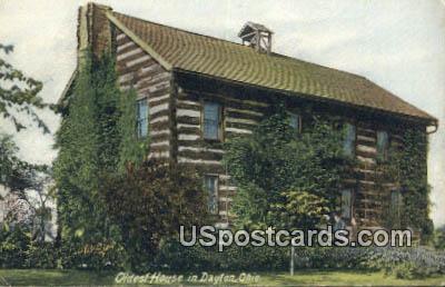 Oldest House - Dayton, Ohio OH Postcard