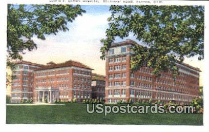 Edwin F Brown Hospital - Dayton, Ohio OH Postcard