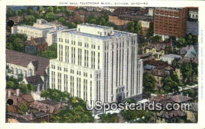 Ohio Bell Telephone Building - Dayton Postcard