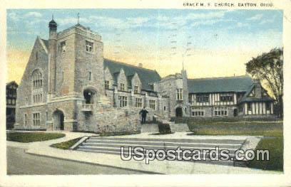 Grace ME Church - Dayton, Ohio OH Postcard