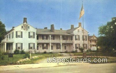 Historic Pennsylvania House - Springfield, Ohio OH Postcard