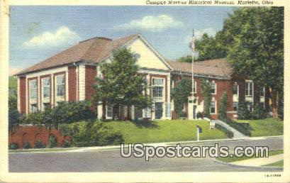 Campus Martius State Memorial Museum - Marietta, Ohio OH Postcard