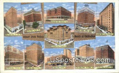 Albert Pick Hotels - Dayton, Ohio OH Postcard