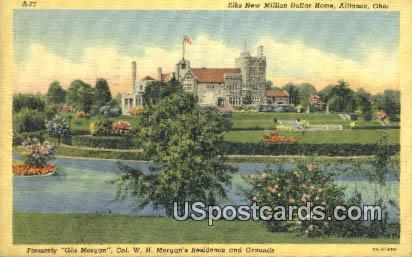 Elks New Million Dollar Home - Alliance, Ohio OH Postcard