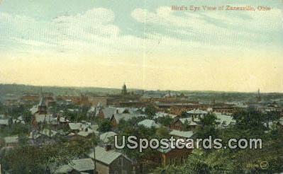 Zanesville, OH Postcard      ;      Zanesville, Ohio