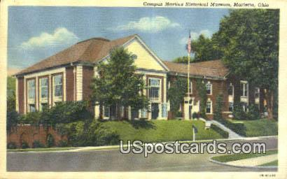 Campus Martius Historical Museum - Marietta, Ohio OH Postcard