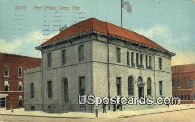 Post Office - Lima, Ohio OH Postcard