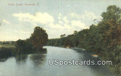 Brush Creek - Zanesville, Ohio OH Postcard
