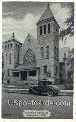 Friends Church - Wilmington, Ohio OH Postcard
