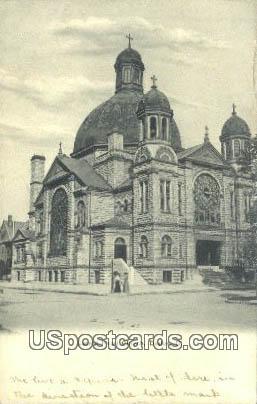 Sacred Heart Church - Dayton, Ohio OH Postcard