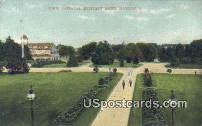View National Military Home - Dayton, Ohio OH Postcard