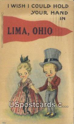 Lima, Ohio Postcard      ;      Lima, OH