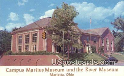 Campus Martius Musem & the River Museum - Marietta, Ohio OH Postcard