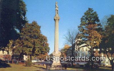 Soldiers Monument - Mt. Vernon, Ohio OH Postcard