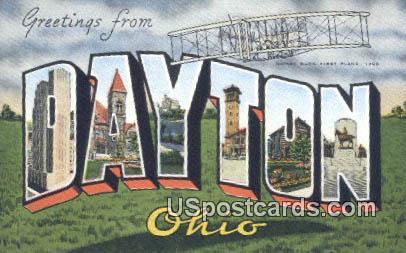 Dayton, Ohio Postcard      ;      Dayton, OH
