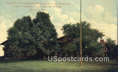 Far Hills, Pres't National Cash Register Works - Dayton, Ohio OH Postcard