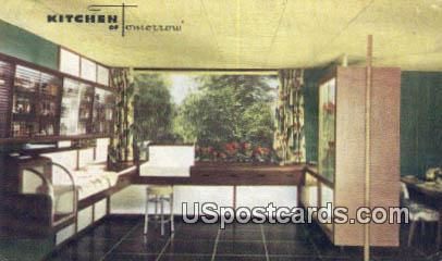 Kitchen of Tomorrow - Toledo, Ohio OH Postcard