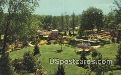 Kingwood Center - Mansfield, Ohio OH Postcard