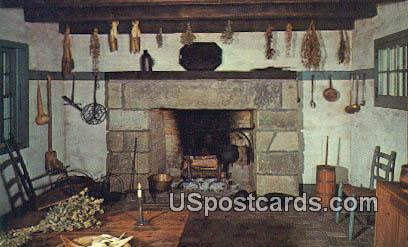Kitchen, Our House Tavern - Gallipolis, Ohio OH Postcard