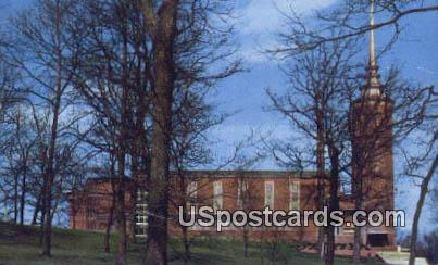 Thomas Library, Wittenburg College - Springfield, Ohio OH Postcard