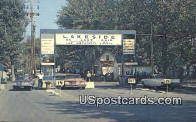 Lakeside on Lake Erie - Great Lakes, Ohio OH Postcard