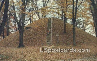 Mound Cemetery - Marietta, Ohio OH Postcard