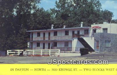 Dayton Motor Hotel - Ohio OH Postcard