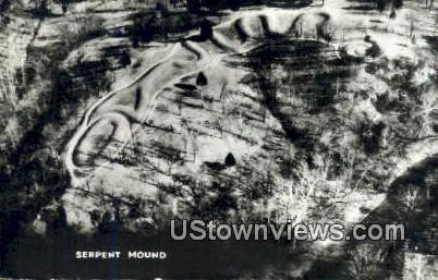 Serpent Mound State Memorial - Adams County, Ohio OH Postcard